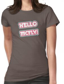Hello McFly! Womens Fitted T-Shirt