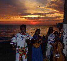 colors of a sunset II - colores de una puesta del sol by Bernhard Matejka