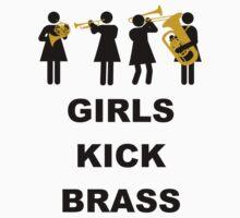 Girls Kick Brass by FrenchHornGirl
