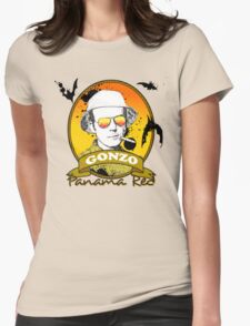Panama Red - Hunter S Thompson Womens Fitted T-Shirt