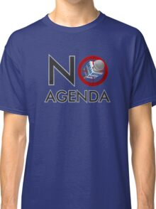 No Agenda - Logo T's, Hoodies, & Tank Tops - The No Agenda Show Classic T-Shirt