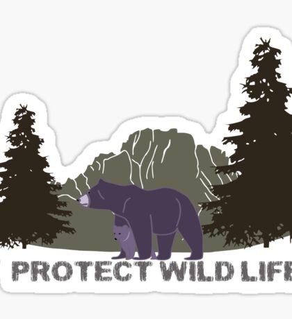 Wild Life Sticker