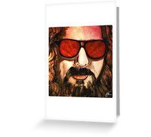 The Dude - Big Lebowski  Greeting Card