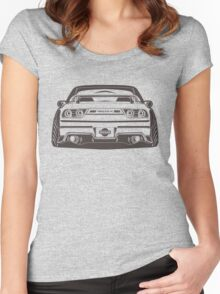 S13 180sx silvia Design Women's Fitted Scoop T-Shirt