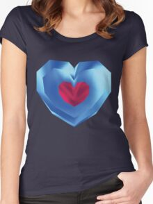 OOT Piece of Heart Women's Fitted Scoop T-Shirt