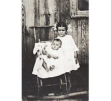 "George D. ""Son"" Langley & sister Zorah Photographic Print"