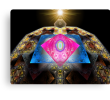 Tut64#1: A Rare Red Diamond (G1385) Canvas Print