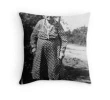 Lydia Jane Gibbons Sterling Throw Pillow