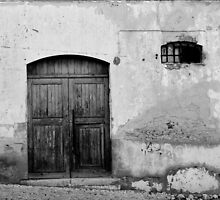 Nothing Inside - Black and White by Sarah Cowan
