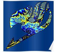 Crazy Lightening Fairy Tail Logo Poster