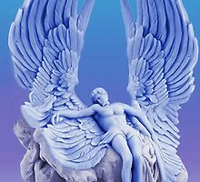 ๑۩۞۩๑BLUE ANGEL..I LAID ME DOWN AND SLEPT.. CARD/PICTURE ๑۩۞۩๑ by ╰⊰✿ℒᵒᶹᵉ Bonita✿⊱╮ Lalonde✿⊱╮