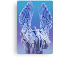 ๑۩۞۩๑BLUE ANGEL..I LAID ME DOWN AND SLEPT.. CARD/PICTURE ๑۩۞۩๑ Canvas Print