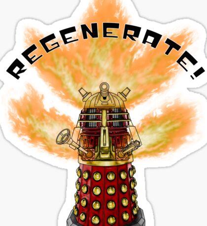 REGENERATE! Sticker