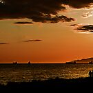Another English Bay Sunset by Yukondick