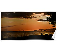 Another English Bay Sunset Poster