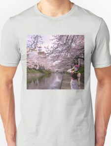 hisoka in town  Unisex T-Shirt