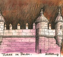 Belém tower by terezadelpilar~ art & architecture