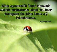 """Speak like a lady"" Ladybug #1 2013 La Mirada, CA USA  by leih2008"