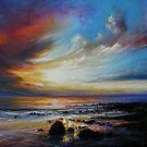 Beara sunset by Roman Burgan