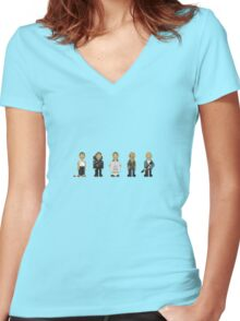 Die Hards Women's Fitted V-Neck T-Shirt