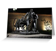 Handcart Pioneer Monument Greeting Card