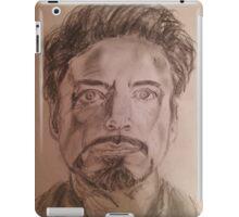Robert Downey Jr. Drawing iPad Case/Skin