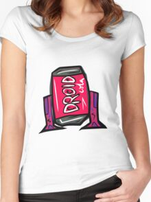 DROID COLA Women's Fitted Scoop T-Shirt