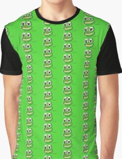 frog, green, lol Graphic T-Shirt