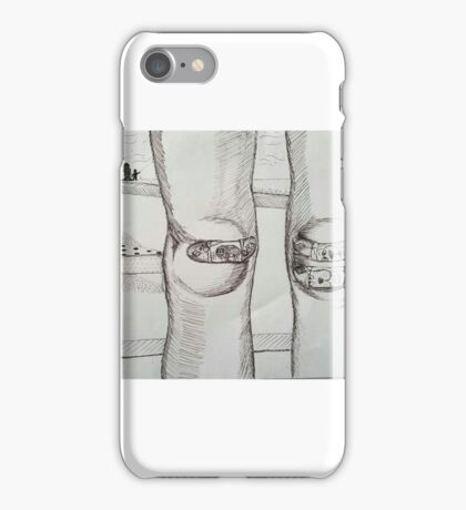 Skinned Knees and Scooby Doo iPhone Case/Skin