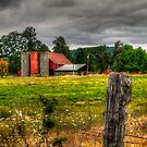 Some Brick, Some Wood by Charles & Patricia   Harkins ~ Picture Oregon