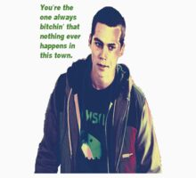 Stiles Stilinski from Teen Wolf by DeafVampireAnge