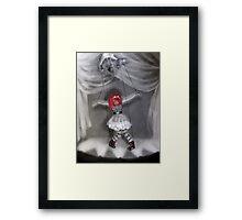 All Strung Up; Human Marionette Framed Print