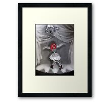 All Strung Up; Human Marionette Framed Print