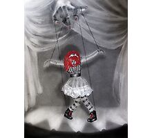 All Strung Up; Human Marionette Photographic Print