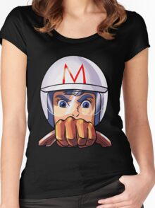 Mach 5 Women's Fitted Scoop T-Shirt
