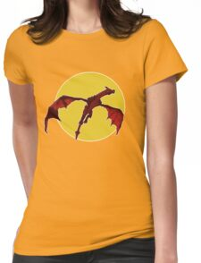 There Be Red Dragons  Womens Fitted T-Shirt