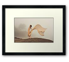 winds of change Framed Print