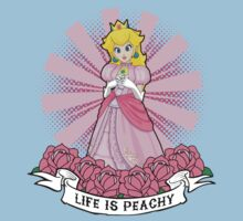 Life Is Peachy One Piece - Short Sleeve