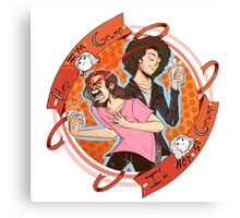 And We're the Game Grumps! Canvas Print