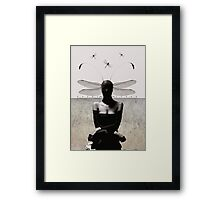 Transmogrify/damsel with no distress Framed Print