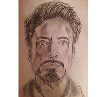 Robert Downey Jr. Drawing Photographic Print