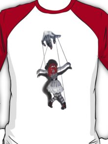 All Strung Up; Human Marionette T-Shirt