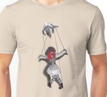 All Strung Up; Human Marionette Unisex T-Shirt