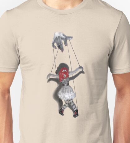 All Strung Up; Human Marionette Unisex T-Shirt