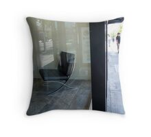 Chair and men Throw Pillow