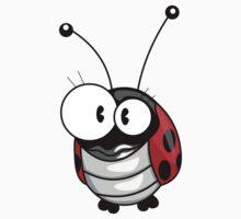 Cartoon ladybug One Piece - Short Sleeve