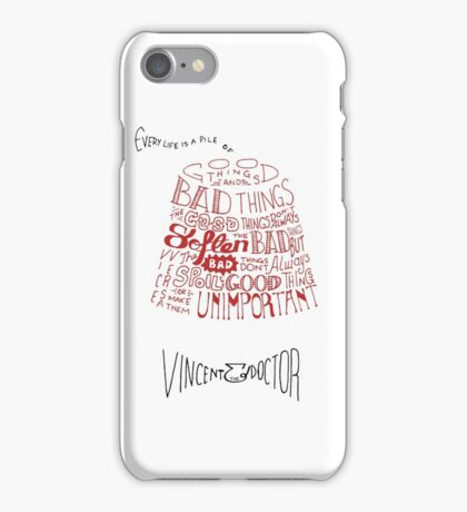 Doctor Who Fez & Bowtie from Vincent & the Doctor iPhone Case/Skin