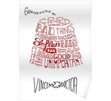 Doctor Who Fez & Bowtie from Vincent & the Doctor Poster