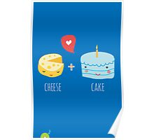 Cheese-cake Love Poster