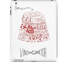 Doctor Who Fez & Bowtie from Vincent & the Doctor iPad Case/Skin